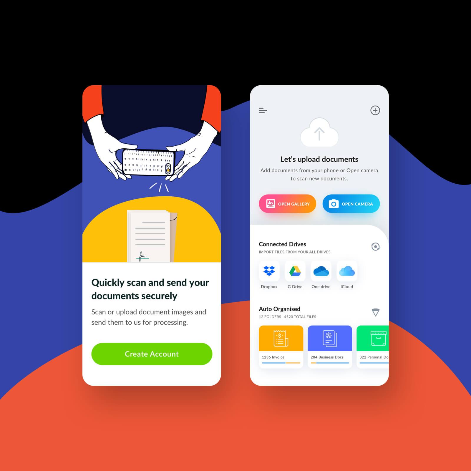SeaMount, finance app